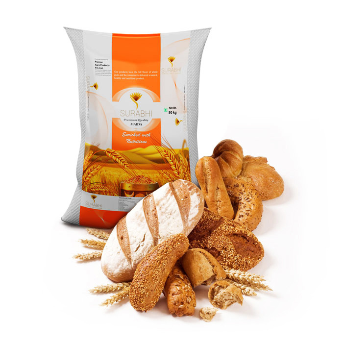 Surabhi- Maida distributors In Kerala, maida 50kg, maida 10kg, whole wheat maida